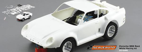Scaleauto: un nouveau kit Porsche 959 Rallye Raid