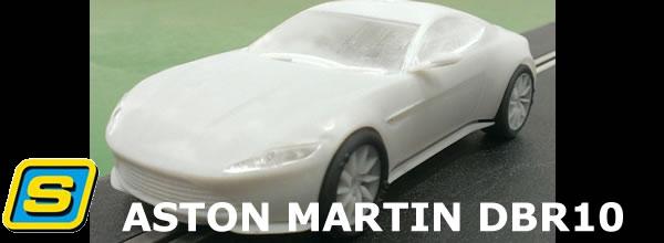 Scalextric: L'Aston DB10 de James Bond pour le slot se prépare