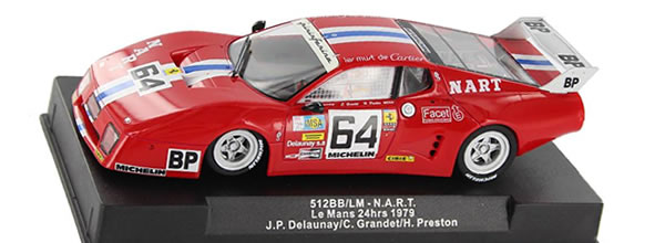 Sideways La Ferrari 512bb NART arrive en boutique