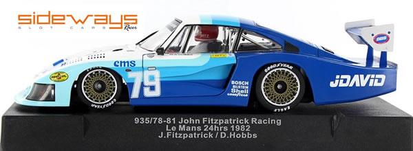 Sideways: la Porsche 935/78 Moby Dick JDavid Le Mans 1982 (SW34)