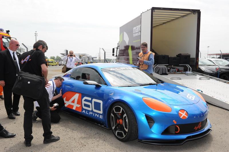 Alpine Le concept car Célébration