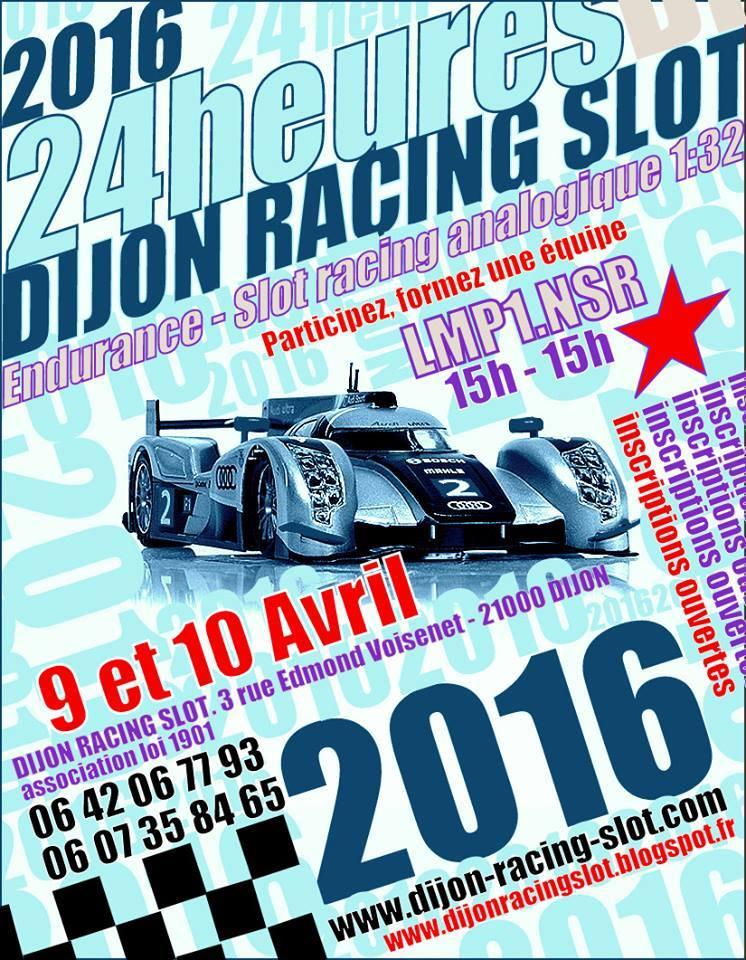Dijon Racing Slot: Les 24h de Slot Racing