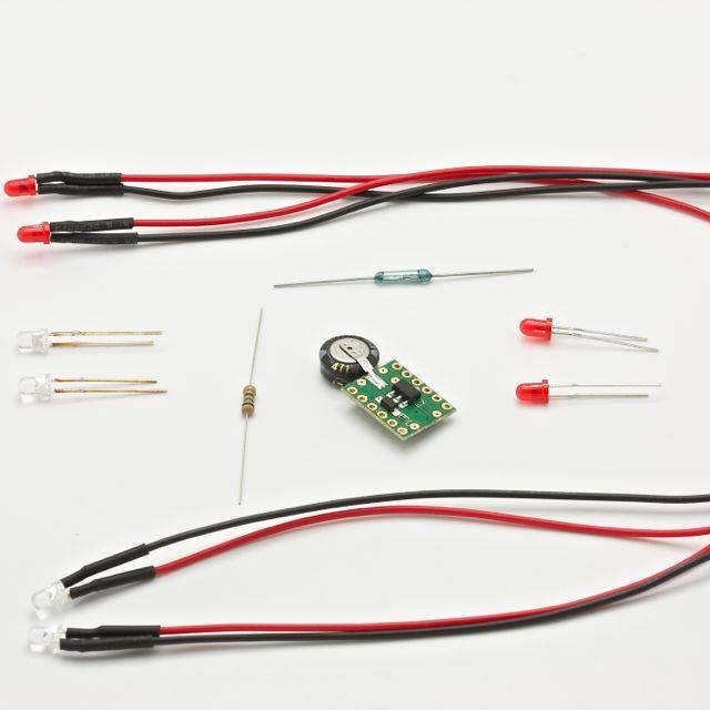 Kit lumière pour voiture de slot MB Slot