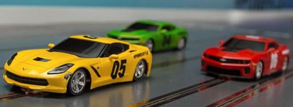 Chevrolet: La plus grande piste de slot racing du monde