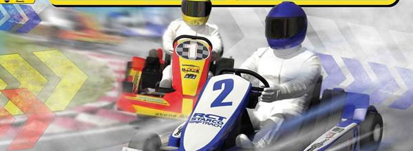 Scalextric: Le coffret Scalextric Super Karts - C1334T