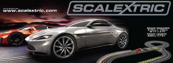 Scalextric: le coffret James Bond Spectre en pré commande