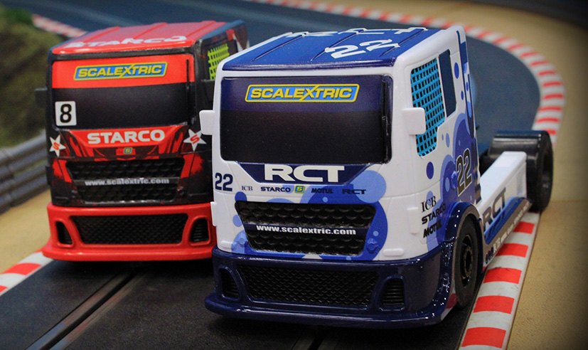 Les camions Scalextric