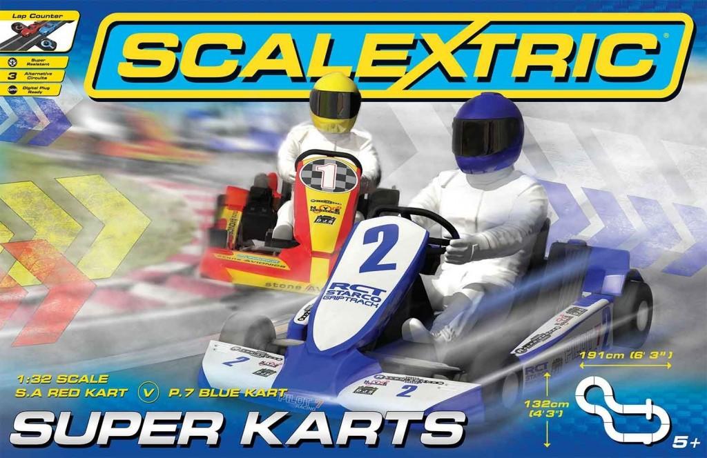 Scalextric Super Karts - C1334T