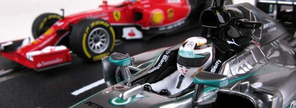 Carrera: les F1 2014 de Alonso et Hamilton pour le slot