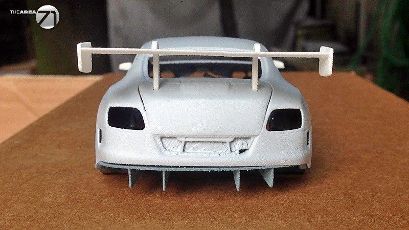 Area71 Slotcars - Kit Bentley Continental GT3 - Prototype