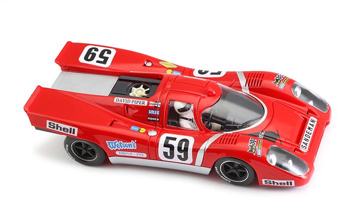 1199SW - Porsche 917K Sandeman Magny Cours 1970 #59 - SW Shark 20K