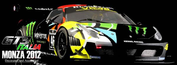 Black Arrow: la GT3 Italia Monza 2012 pour décembre 2015