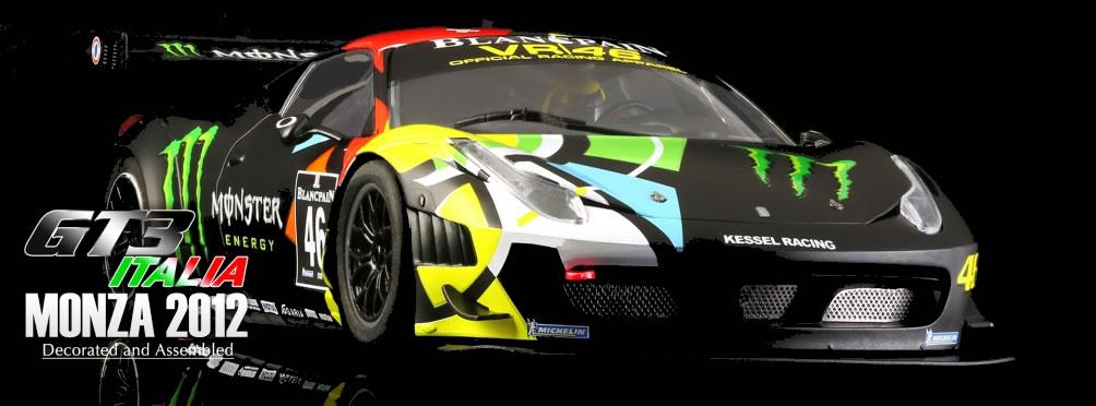 Black Arrow la GT3 Italia Monza 2012 pour décembre 2015