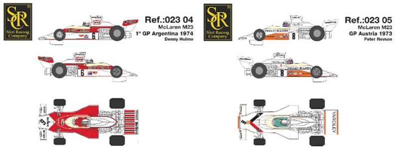 SRC McLaren M23 F1