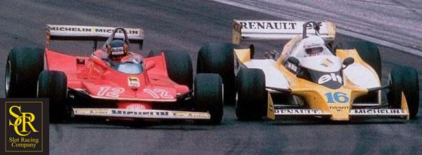 SRC la marque de slot annonce des F1 de légende