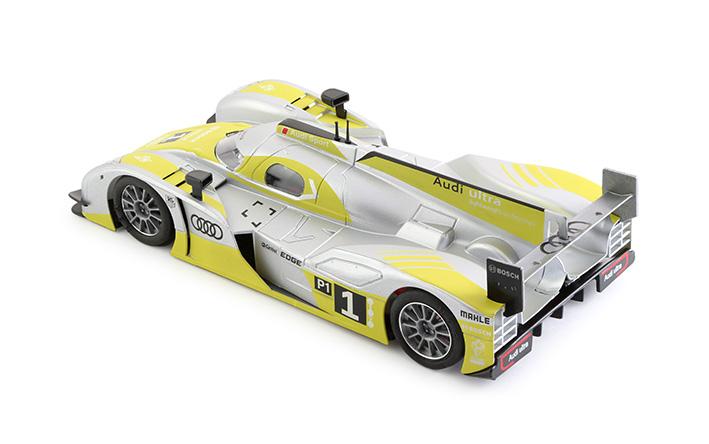 Audi R18 e-tron quattro - #1 Limited Edition - silver/yellow - IL King EVO3 (0005IL)