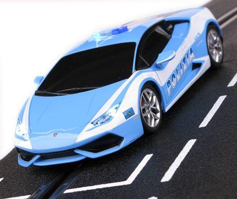 Carrera: la Lamborghini Huracan polizia 30731