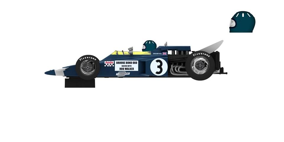 Lotus 72 Graham Hill 1970 Policar