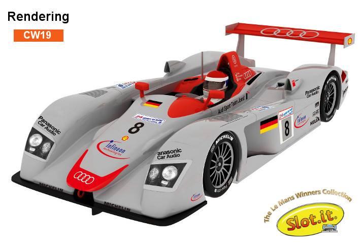 Audi R8 LMP - #8 - Le Mans Winner 2000