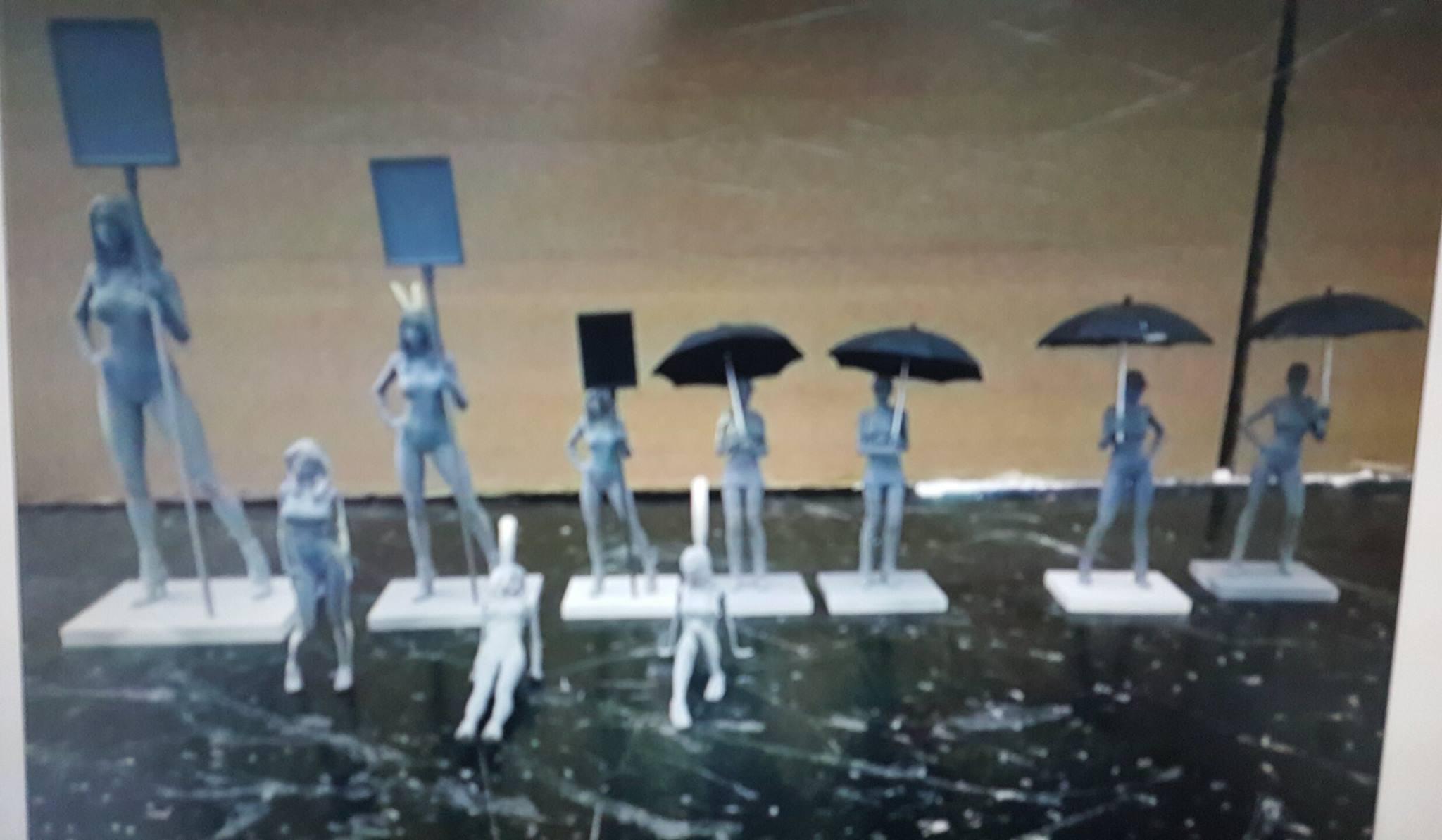 Les figurines Sideways pour 2016