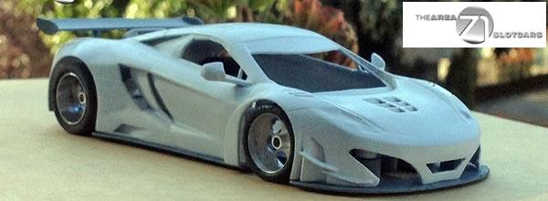Area71 Slotcar: Un kit imprimé en 3D de la Mclaren mp4- 12 c Gt3