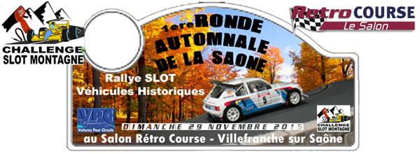Association Slot Montagne: la Première ronde automnale de la Saône