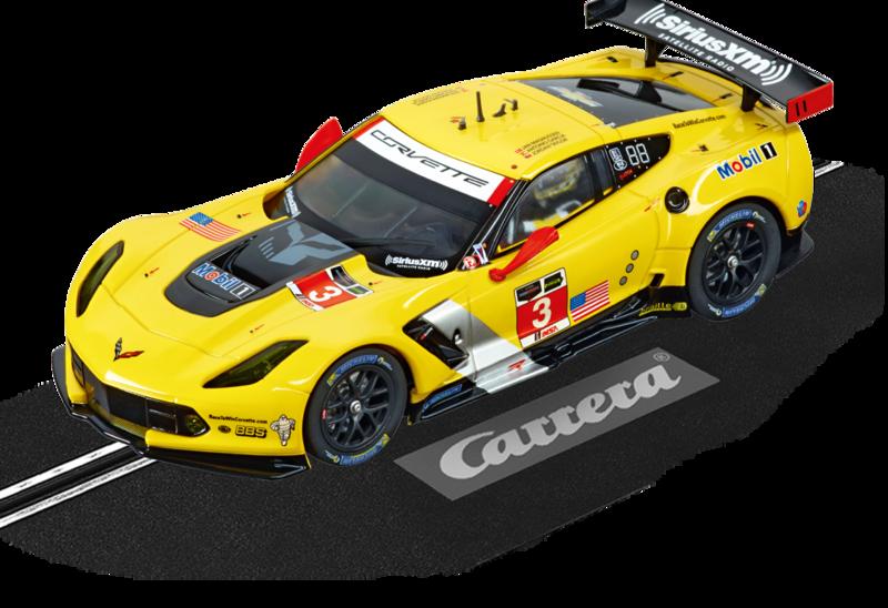 carrera trois corvette c7 r pour le slot racing l tratslot. Black Bedroom Furniture Sets. Home Design Ideas
