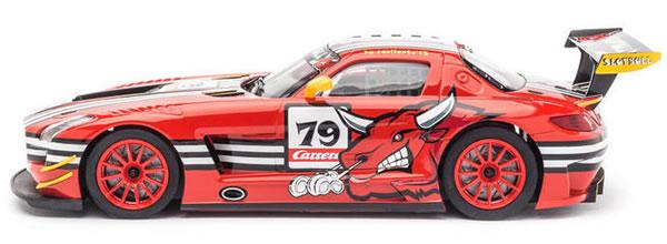 Carrera: Mercedes SLS AMG GT3 SlotBull à l'échelle 1/24