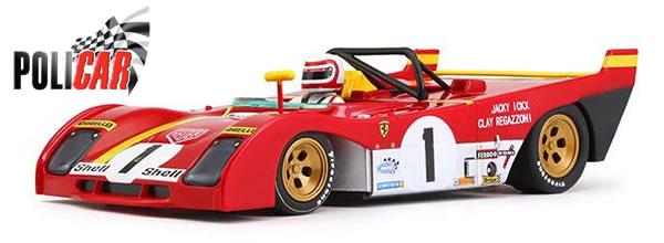 Policar: la Ferrari 312 PB #1 1st 1000 km Monza 1972