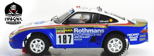 Scaleauto: Trois Porsche 959C pour le Slot Rallye Raid