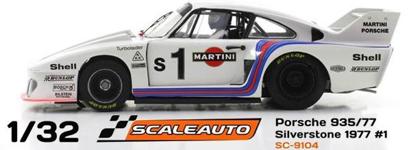 Scaleauto Une Porsche 935-77 dans la catégorie HomeSéries annoncée