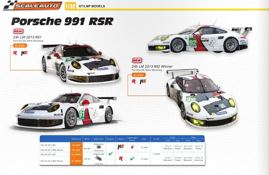 Scaleauto les premières photos de la Porsche 911 GT3 - 991