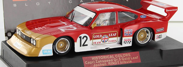 Sideways: la Capri Zakspeed Gold Leaf Edition Special Historical Colors Limited
