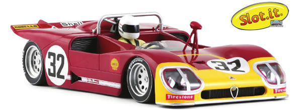 """Slot.it: L' Alfa Romeo 33/3 12h de Sebring 1971 """"CA11h"""""""