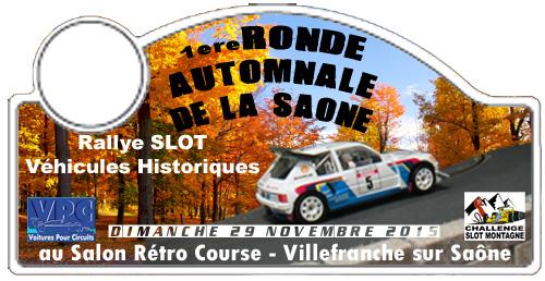 1ere Ronde Slot Automnale de la Saône