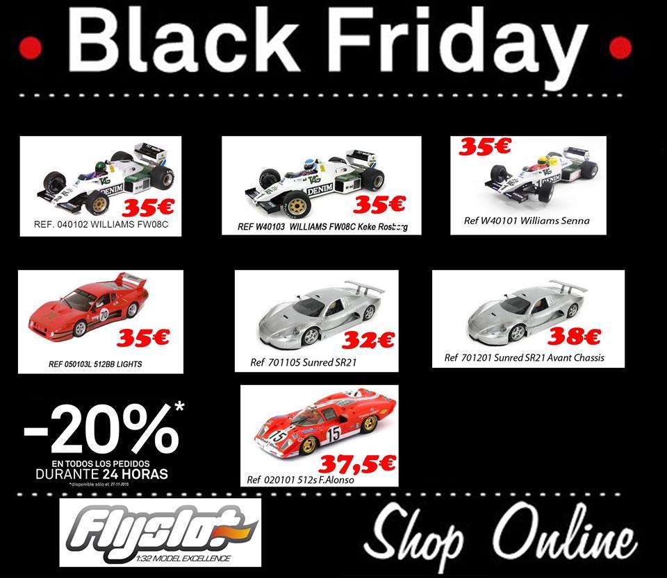 FlysSlot: -20% de réduction pour le Black Friday