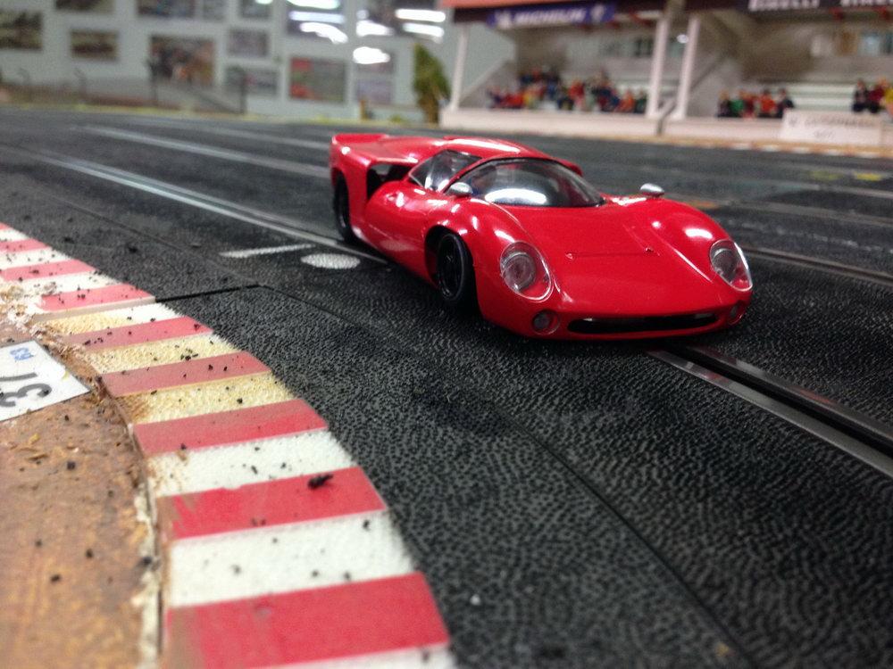 Thunder Slot La Lola T70 MKIII le renouveau de Giovanni Montiglio
