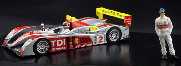 Avant Slot: L' Audi R10 TDI Le Mans 2008 – Tom Kristensen