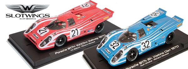 Slotwings: Des Porsche 934/5 et 917 k bientôt en boutique
