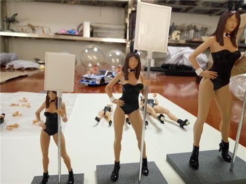 Les figurines Sideways