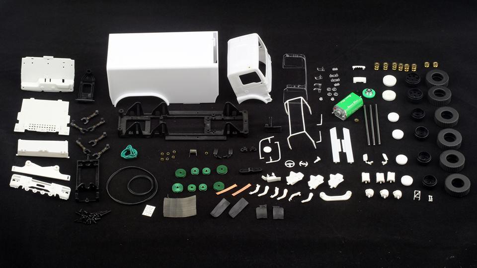 Avant Slot kit Camion Rallye Slot 6x6