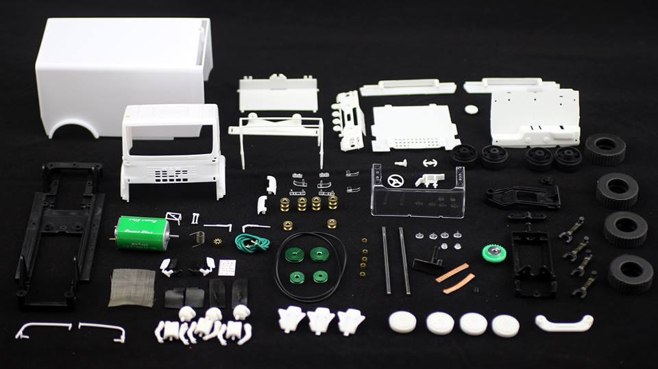 Avant Slot kit Camion Rallye Slot 4x4