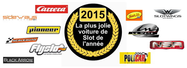 LetratSlot L'élection de la plus jolie voiture de slot 2015
