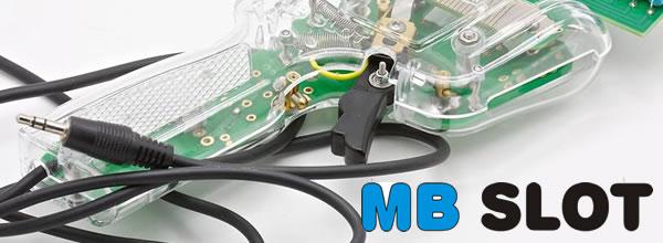 MB Slot Des poignées avec prise jack pour Power Base Ninco