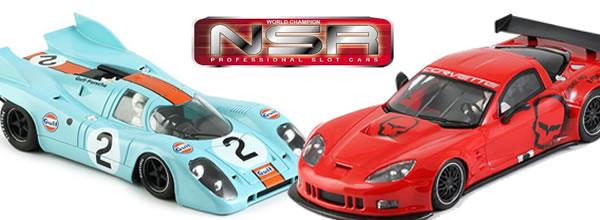 NSR Slot Deux nouvelles voitures de slot arrivent en décembre