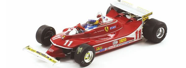 SRC: la Ferrari 312 T4 1979 F1 Gp 1st Monaco Jody Scheckter