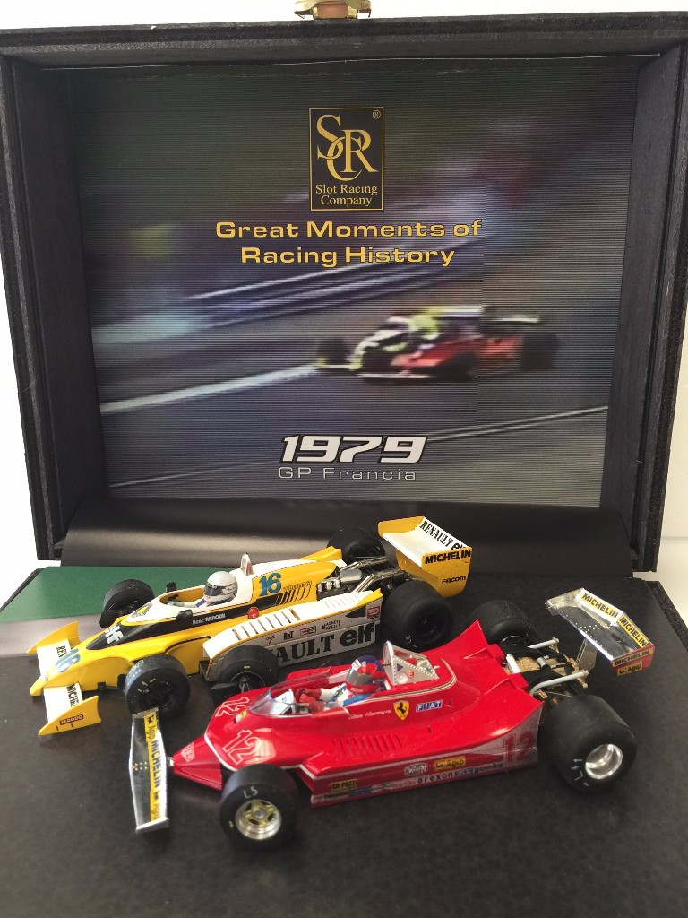 SRC: le coffret Great Moments of Racing History GP France 79