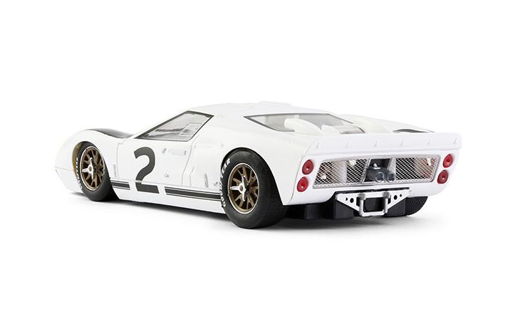 NSR0008SW – Ford MK II GT40 - Le Mans Test 1966 #2 - Ken Miles white/black - SW Shark 20K
