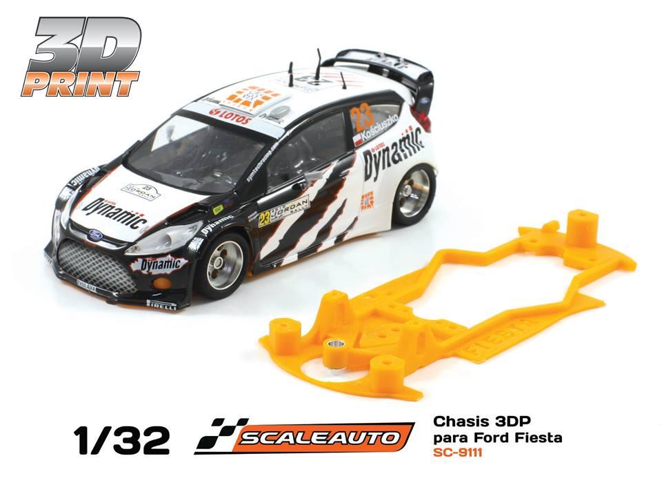 Scalextric Chassis Ford Fiesta Wrc Kinderrennbahnen Elektrisches Spielzeug