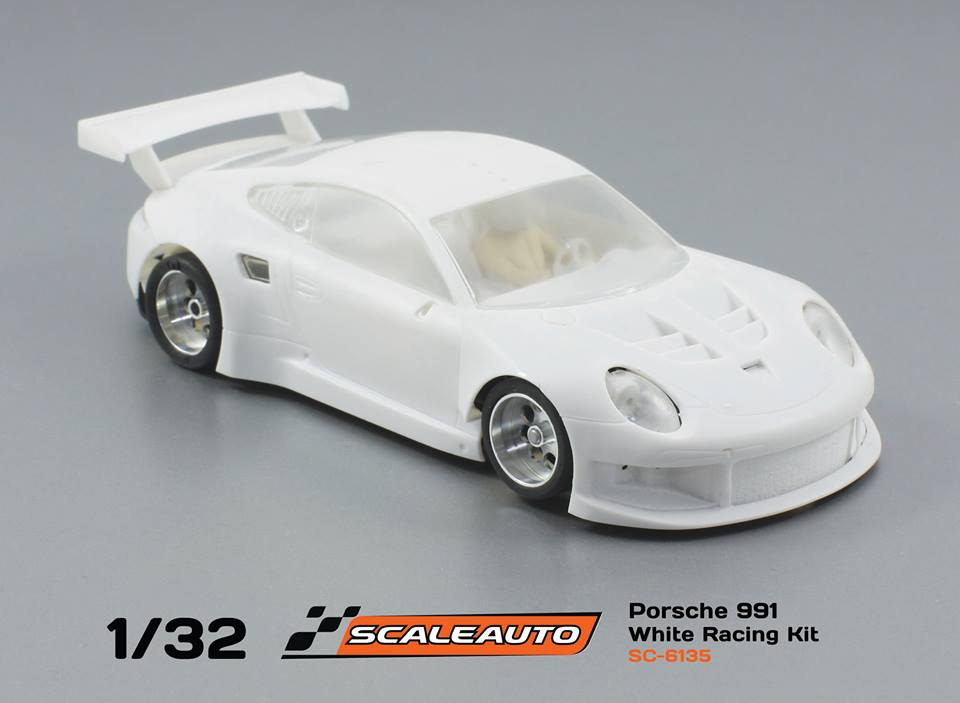 SC-6135 1/32 Porsche 991 GT3 White Racing Kit
